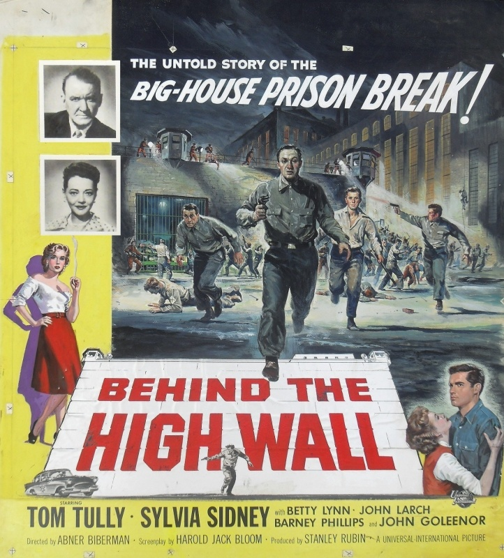 Behind the High Wall (1956) by Reynold Brown - Illustration