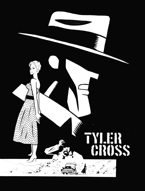 Brüno, couverture Tyler Cross by Brüno - Original Cover