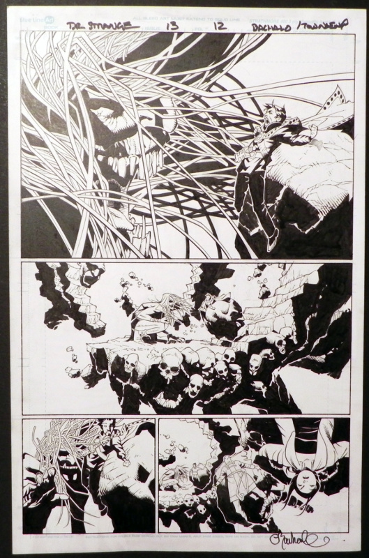 Doctor strange ep.13 page 12 by Chris Bachalo, Townsend - Comic Strip