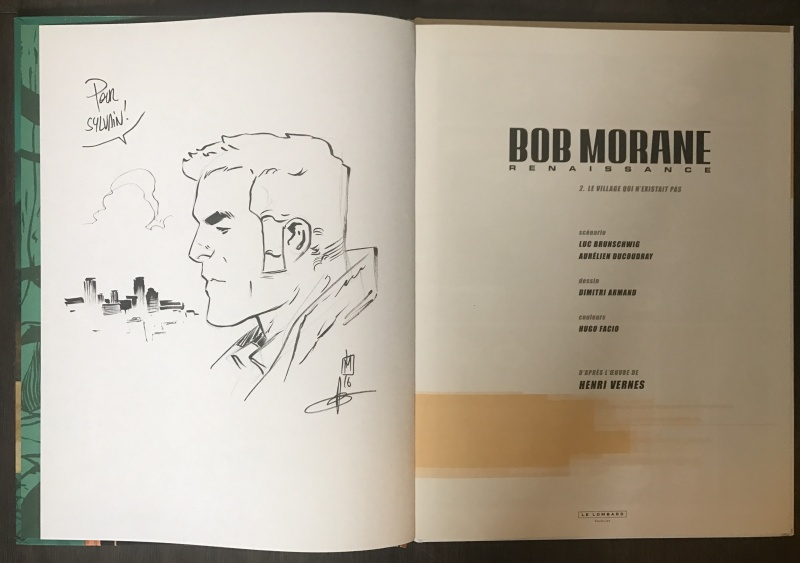 Bob morane - le village qui n existait pas by Dimitri Armand - Sketch