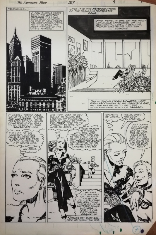 Fantastic FOUR 269 PAGE 7 by John Byrne - Comic Strip