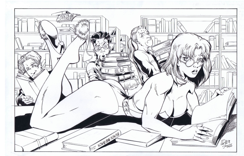 Wildstorm Swimsuit Special #2 P21 by Joe Phillips, Jim Lee - Illustration