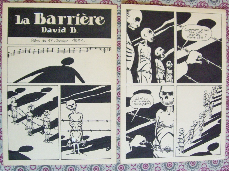 La barriere - cauchemar du cheval bleme by David B. - Comic Strip
