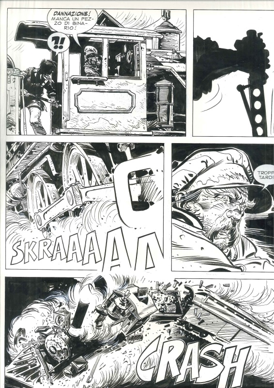 Tex Willer L´ultimo ribelle page by Colin Wilson, Claudio Nizzi - Comic Strip