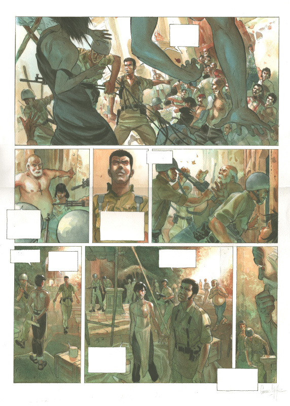 Muchacho Tome1 Planche 43 by Emmanuel Lepage - Comic Strip