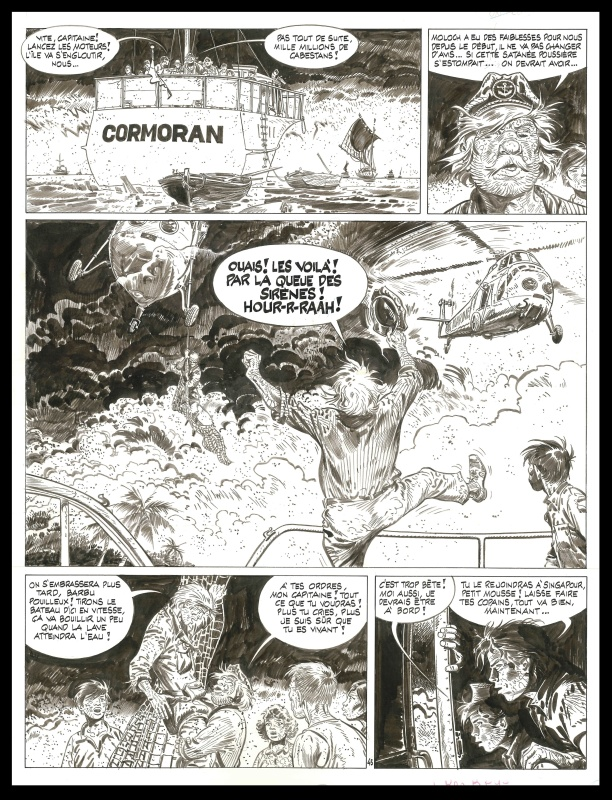 Bernard Prince : 10. Le souffle de Moloch by Hermann - Comic Strip
