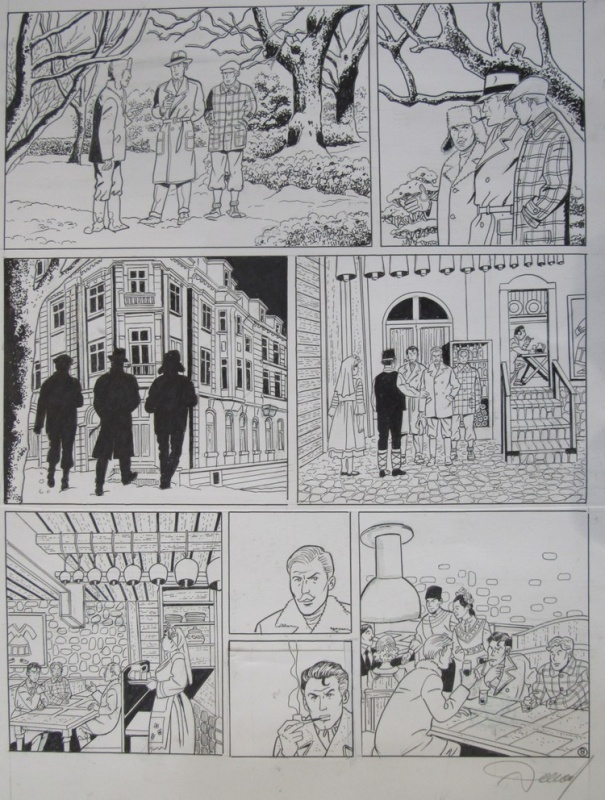 For sale - Harry Dickson by Renaud, Christian Vanderhaeghe - Comic Strip