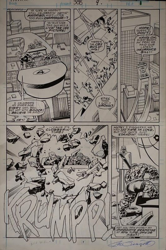 For sale - Fantastic Four by John Buscema, Joe Sinnott - Comic Strip
