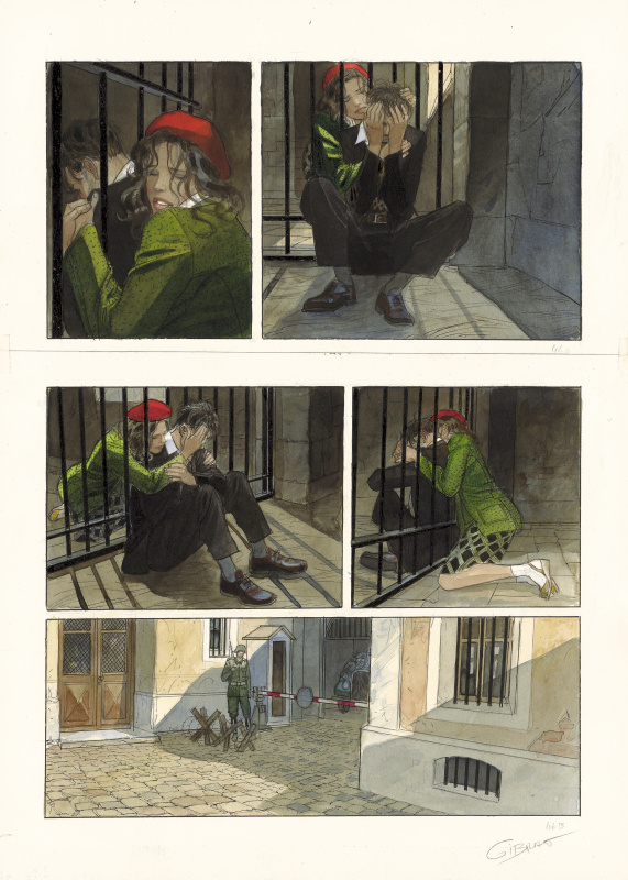 For sale - Le vol du Corbeau - tome 2 by Jean-Pierre Gibrat - Comic Strip