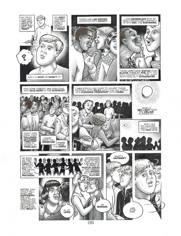 For sale - Un monde de différence - page 44 by Howard Cruse - Comic Strip