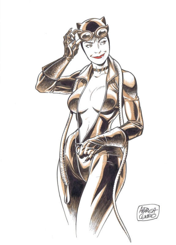 Catwoman Par Cuneo by Andrea Cuneo - Illustration