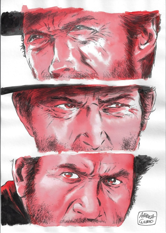 Cuneo -  The Good, the Bad, the Ugly by Andrea Cuneo - Illustration