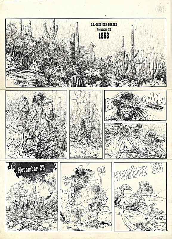 Marshal Blueberry p1 T1 by William Vance, Jean Giraud, Petra Van Cutsem - Comic Strip