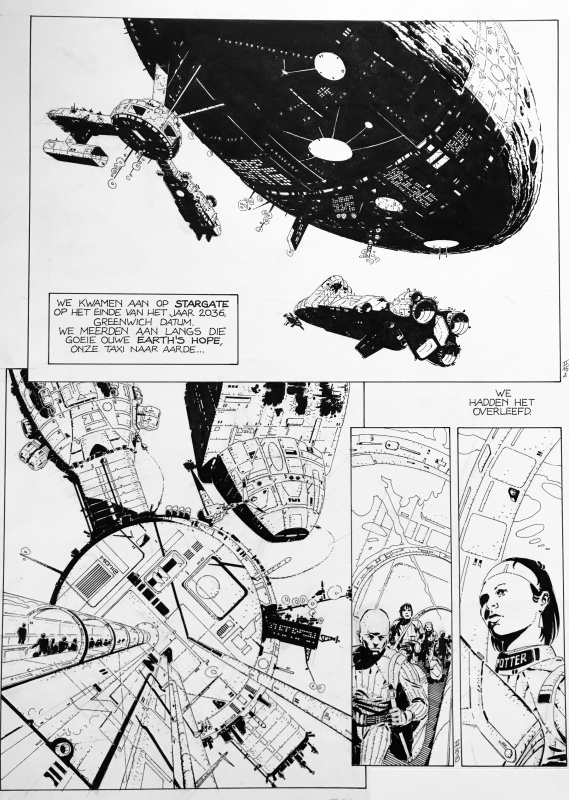 The Forever War p15 T2 by Marvano, Joe Haldeman, Bruno Marchand - Comic Strip