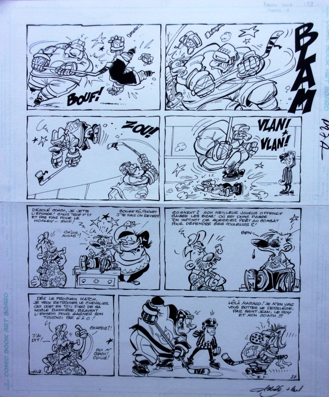 Les canayens de Monroyal - Les Hockeyeurs by Achdé - Comic Strip