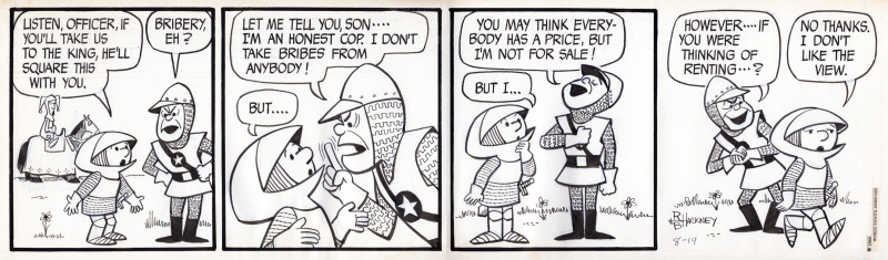 Sir Bagby 3 by Rick Hackney - Comic Strip