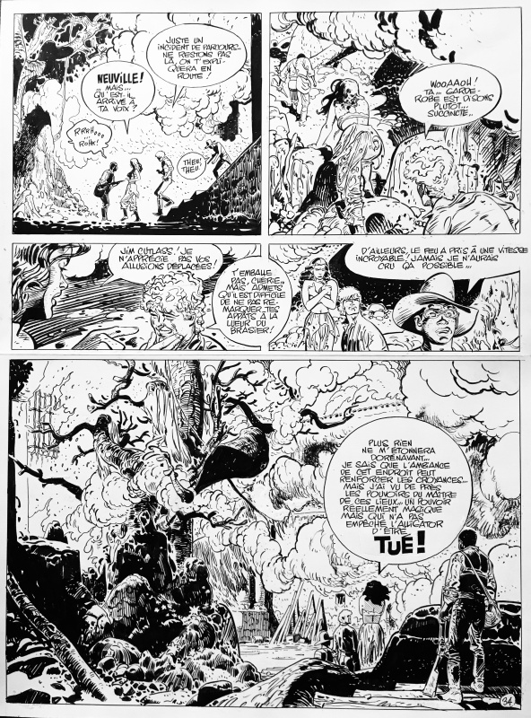 Jim Cutlass p34 T4 by Christian Rossi, Jean Giraud, Isabelle Beaumenay-Joannet - Comic Strip