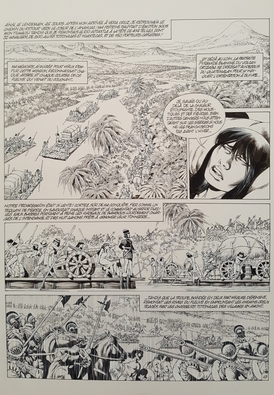 Quetzalcoatl tome 6 planche 17 by Jean-Yves Mitton - Comic Strip