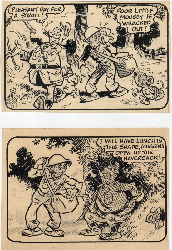 Private Billy Muggins by Roy Wilson - Comic Strip
