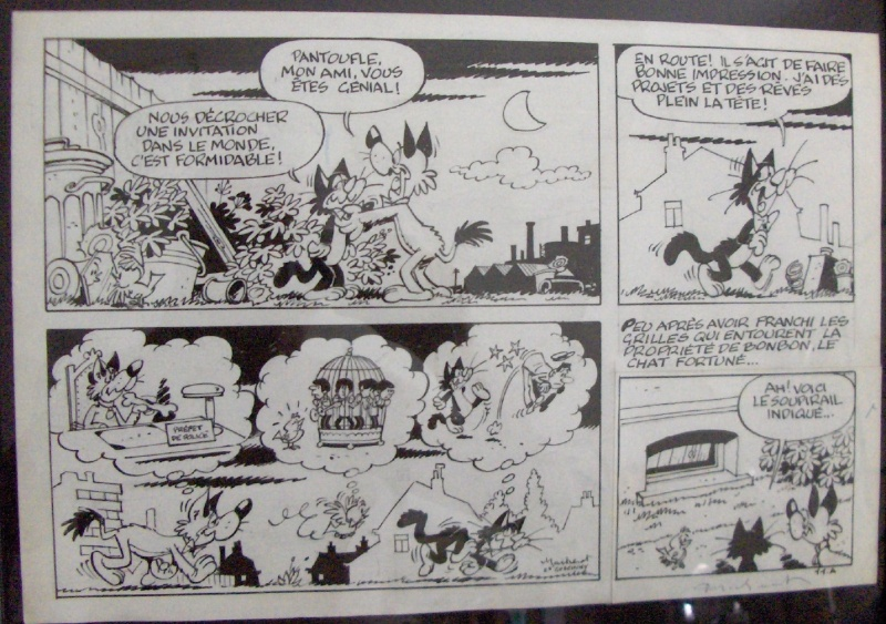 Pantoufle by Raymond Macherot - Comic Strip
