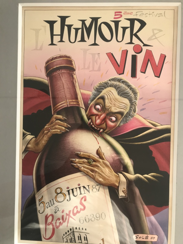 Humour et Vin by Jean Solé - Illustration