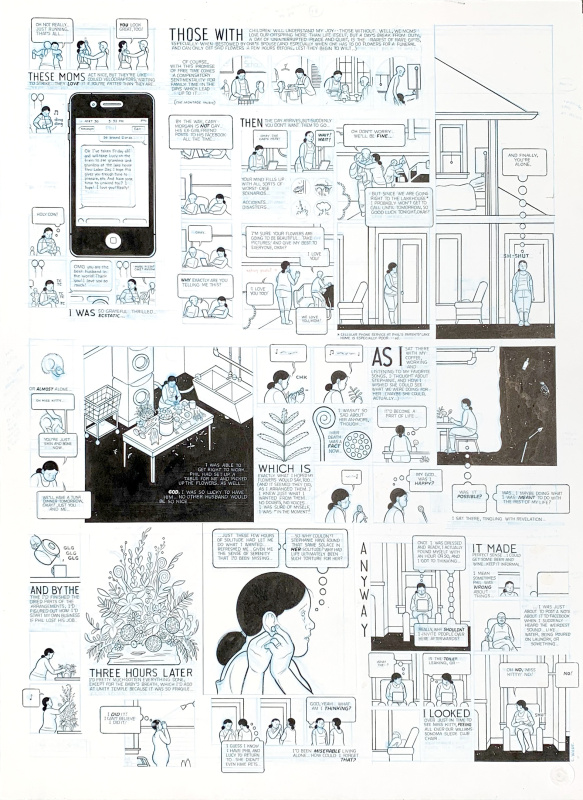 Building Stories - Oak Park Newspaper by Chris Ware by Chris Ware - Comic Strip