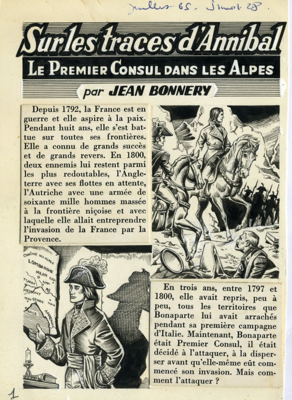 Sur les Traces d'Annibal by René Brantonne - Comic Strip
