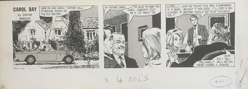 Carol Day by David Wright - Comic Strip