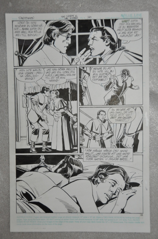 The Phantom, Giovanna by Dick Giordano - Comic Strip