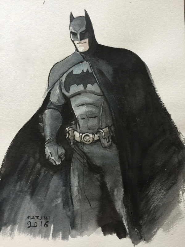 Batman by Enrico Marini - Illustration