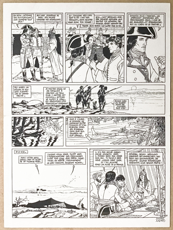 Arno T.2 - planche 33 by André Juillard, Jacques Martin - Comic Strip