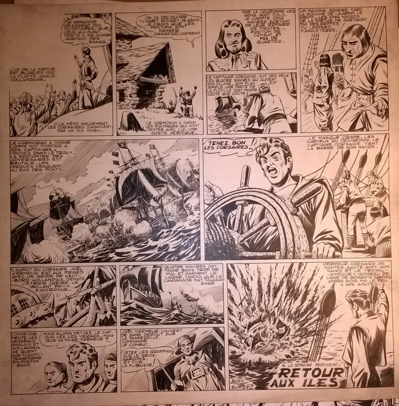 Capitaine CORMORAN by Lucien Nortier, Jean Ollivier - Comic Strip
