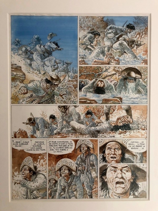 Hermann, Caatinga by Hermann - Comic Strip