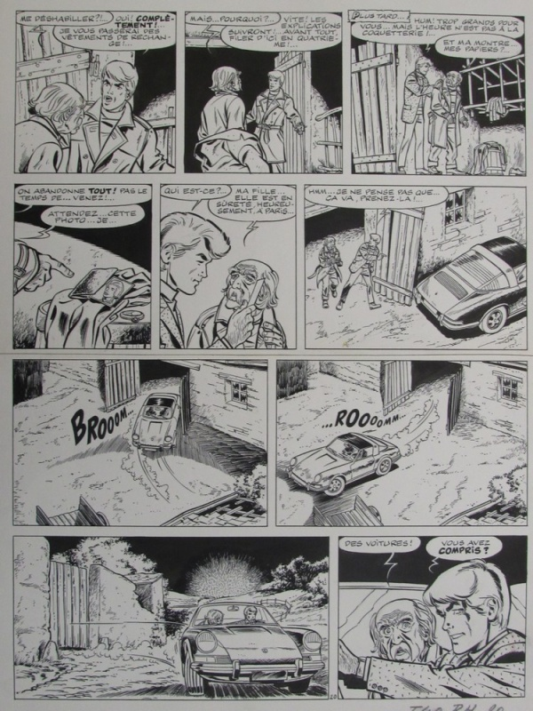 For sale - Ric Hochet contre le bourreau by Tibet, André-Paul Duchâteau - Comic Strip