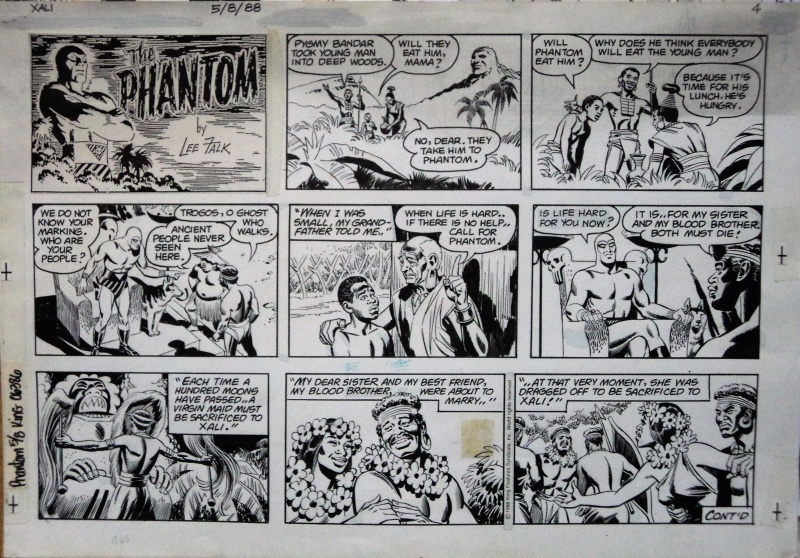 The Phantom by Dan Barry - Comic Strip