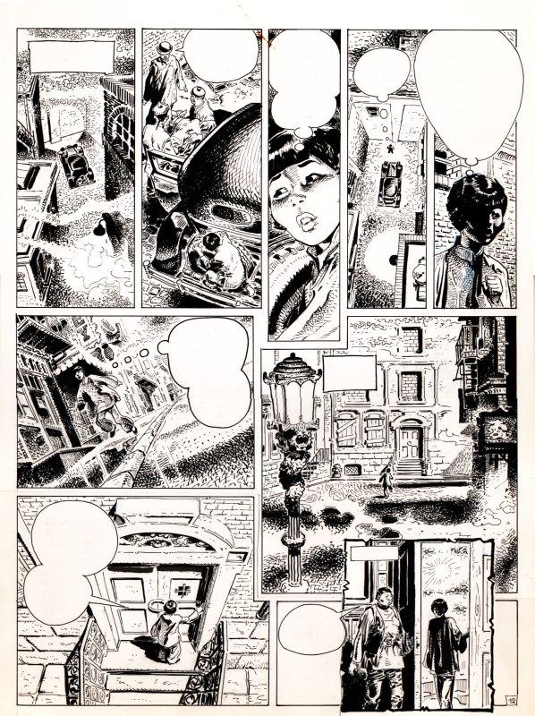 Chinatown planche 15 by Antonio Parras - Comic Strip