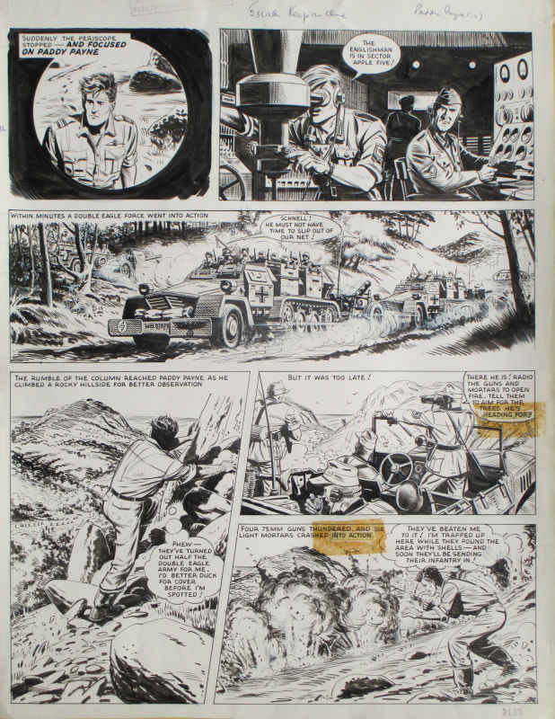 Paddy PAYNE by Joe Colquhoun - Comic Strip