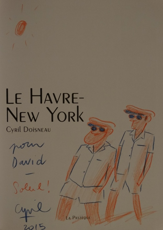 Le Havre-New York by Cyril Doisneau - Sketch