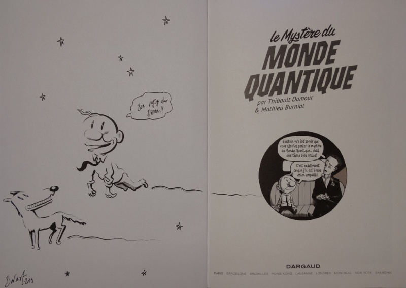 Le mystère du monde quantique by Mathieu Burniat - Sketch