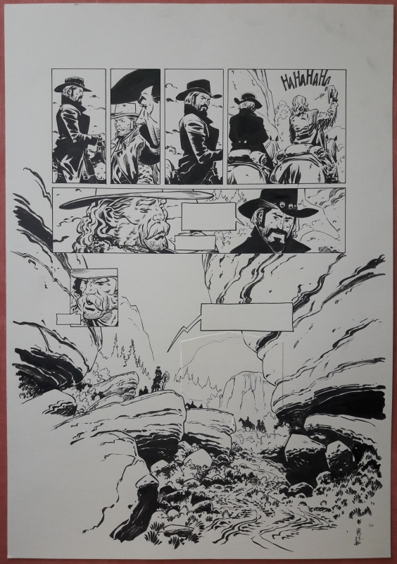 For sale - Texas Jack - Planche 60 by Dimitri Armand - Comic Strip