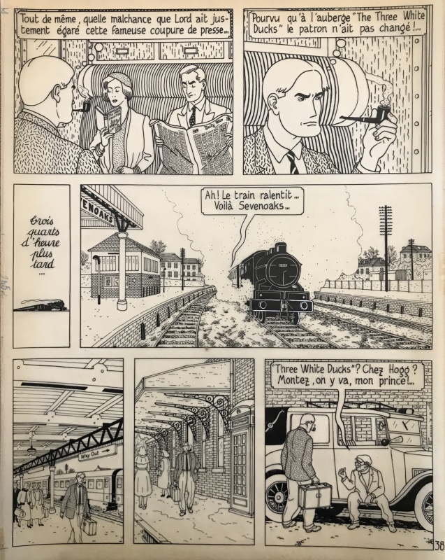 Le Rendez-vous de Sevenoaks by Jean-Claude Floc'h - Comic Strip