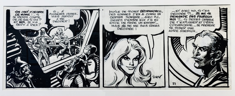 Barbarella, Le Semble-Lune by Jean-Claude Forest - Comic Strip