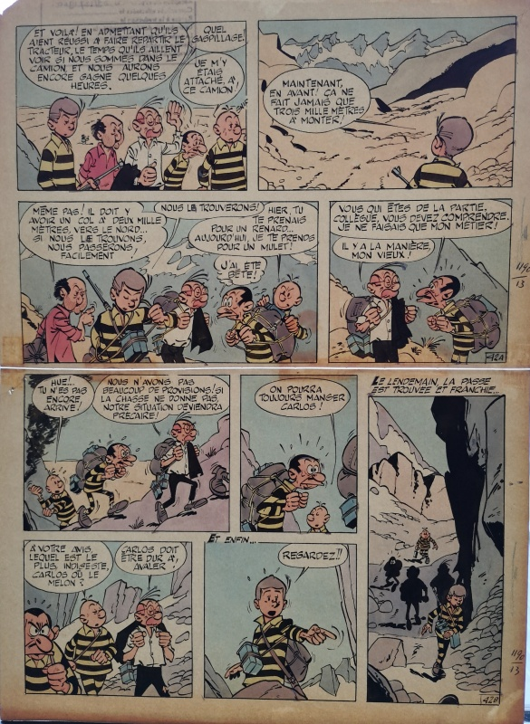 Gil Jourdan - L'enfer de Xique-Xique by Maurice Tillieux - Comic Strip