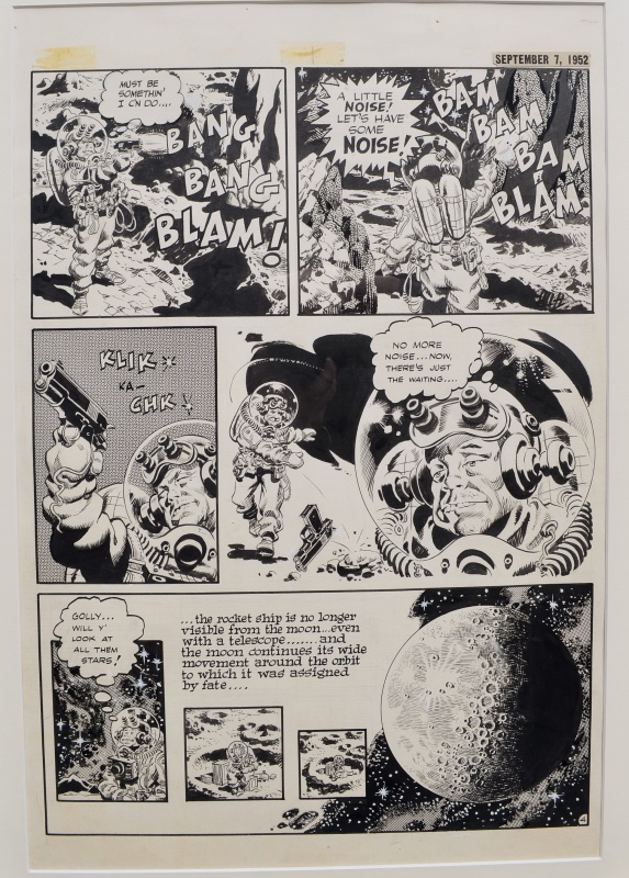 The spirit by Wally Wood - Comic Strip