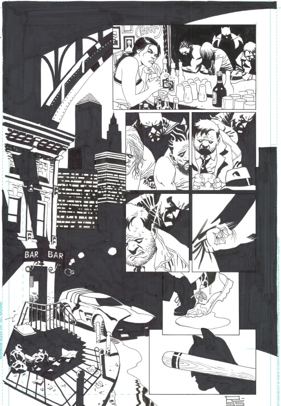Batman Knight of Vengeance by Eduardo Risso, Brian Azzarello - Comic Strip