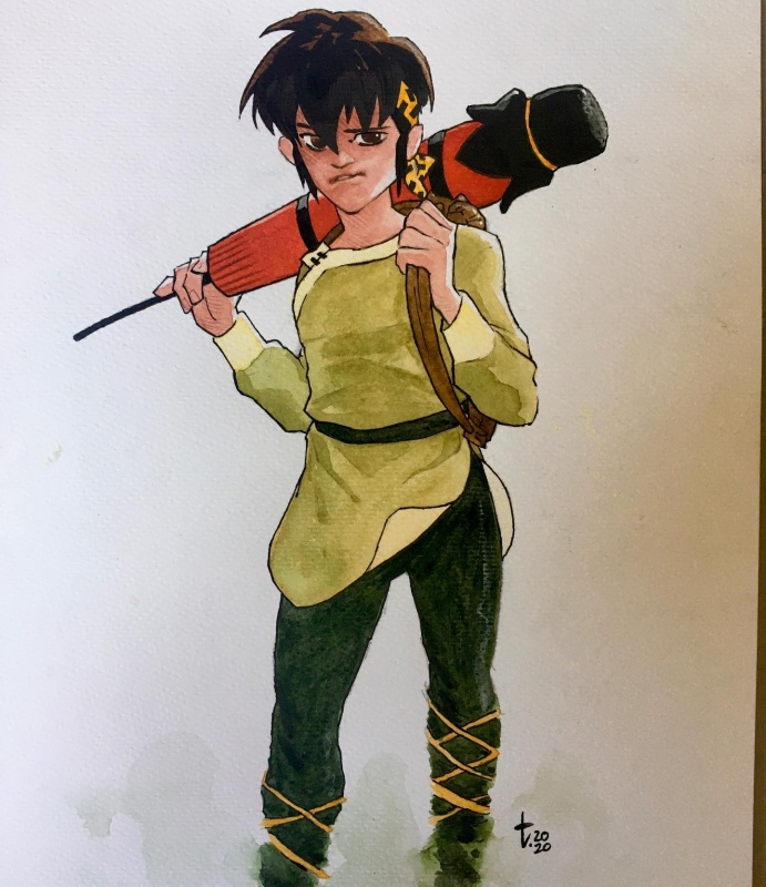 For sale - Ryōga: Ranma 1 1/2 by Tirso Cons - Illustration