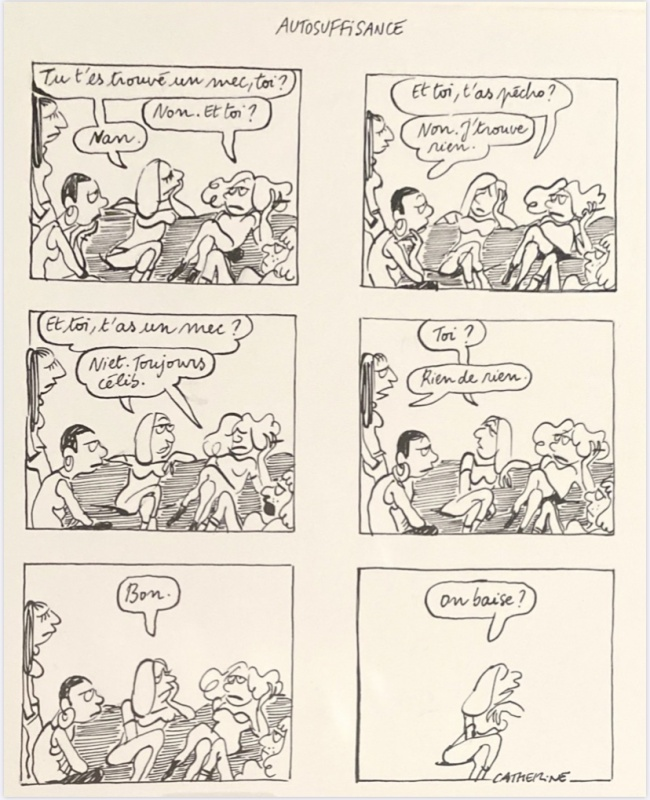 Autosuffisance by Catherine Meurisse - Comic Strip
