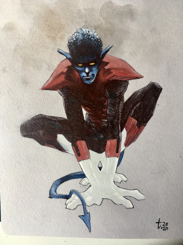 For sale - Nightcrawler by Tirso Cons - Illustration