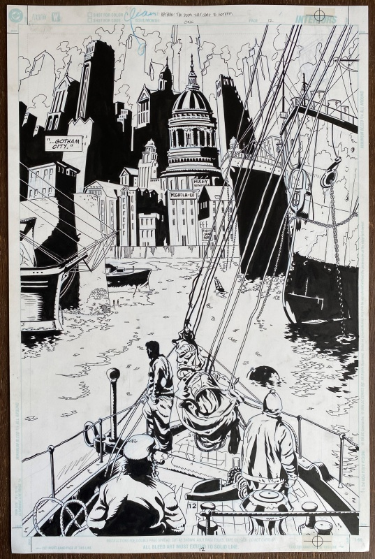 Batman: The Doom That Came To Gotham - Issue #1, Page 12 by Troy Nixey - Comic Strip
