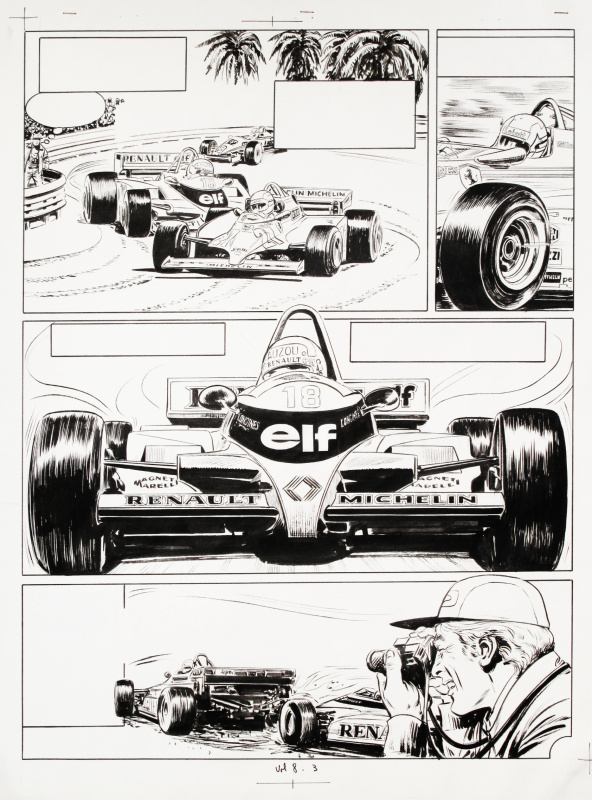 Formula 1 by Angelo Di Marco - Comic Strip